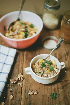 Apple & Honey Couscous #food #photography #recipe