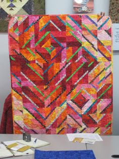 Chattanooga Modern Quilt Guild: The November Meeting, Part 2