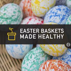 You can make a #healthy #Easter basket with #nugobars and some of these 19 ideas.