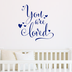 You Are Loved Wall Quotes™ Decal   WallQuotes.com