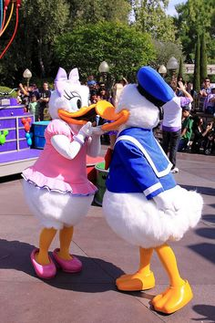 Celebrate! A Street Party: Daisy Duck, Donald Duck