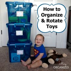 How to Organize & Rotate Toys | Org Junkie