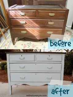 before and after dresser sugar cane http://refreshrestyle.com