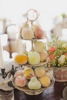 postcards and pretties: {pretty details} sugared fruit