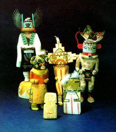 Vintage Hopi Kachinas