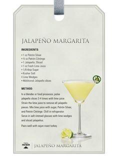 Jalapeno Margarita.