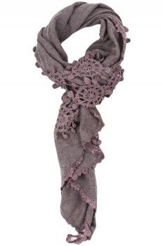 Mary Kate Crocheted Scarf