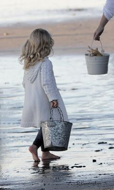 collecting shells...