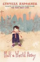 """<2014 pin> Half a World Away by Cynthia Kadohata. SUMMARY: Twelve-year-old Jaden, an emotionally damaged adopted boy fascinated by electricity, feels a connection to a small, weak toddler with special needs in Kazakhstan, where Jaden's family is trying to adopt a """"normal"""" baby."""