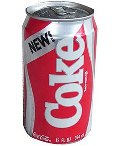 Introduced April 23, 1985, succeeded in blind taste tests but flopped in the real world. Phone calls, letters and rants from Coke die-hards ...