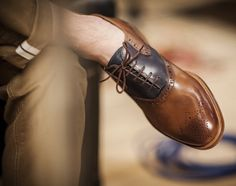 Plectrum Remus Brogue by Ben Sherman