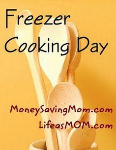 Even more freezer meals