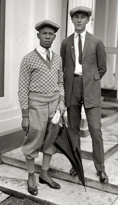 """Thomas W. Miles and Simon Zebrock of Los Angeles"", 1924."