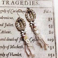 morning dove earrings