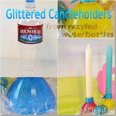 diy crafts, recycle water bottles