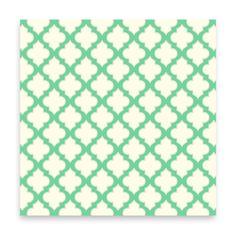 Trellis - turquoise