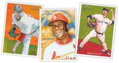 topps painted cards
