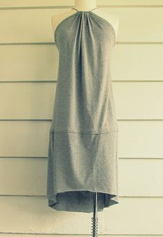 Cute sundress made from two t-shirts.  From WobiSobi