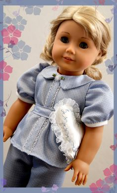 Ruthie's Hollywood Pajamas by Dollhouse Designs via Etsy  An upcoming sewing pattern Fall 2014