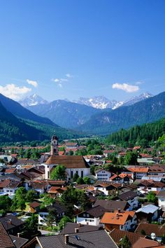 Mittenwald, a German