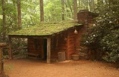 Cherokee Indian village