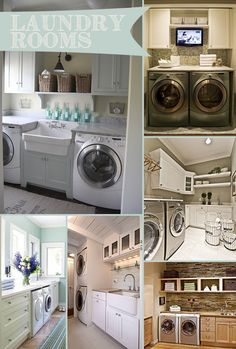 Pinterest Trends: Laundry Rooms