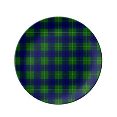 Clan Johnston Tartan Plate