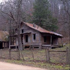 Ghost town of Rush Arkansas