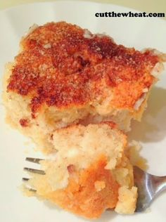 Cinnamon Cream Cheese Squares - S