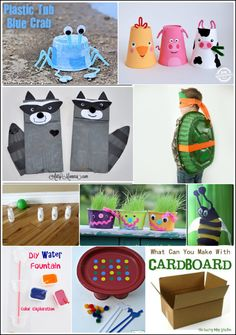 Upcycled - Recycled Crafts for Kids #BewitchinProjects