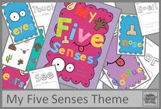 Free My Five Senses Printables!