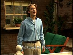 For those of you who didn't grow up with the Feeny call... I am genuinely sorry.