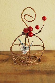 Bird cage ornament