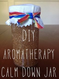 very, very fine - VVF - DIY aromatherapy calm down jar