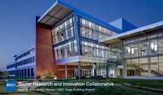 When we do a building at #Baylor University, we do it right. This is our research park. #SicEm
