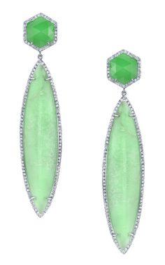Irene Neuwirth's Mint Drop earrings.