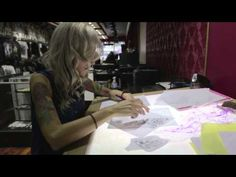 VIDEO: 47-year-old breast cancer survivor Molly Ortwein gets a seven hour chest tattoo from artist Colby Butler of Unfamous Miami. // P-ink.org provides mastectomy patients with tattoo info.