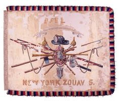 11th NY Zouaves Flag