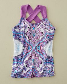 Phoebe Printed Paisley Top by prAna