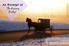 "Start reading my new book ""The Kissing Bridge"" for free! #Amish #AmishFiction"