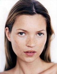 Kate Moss is the epitome of natural, flawless beauty.