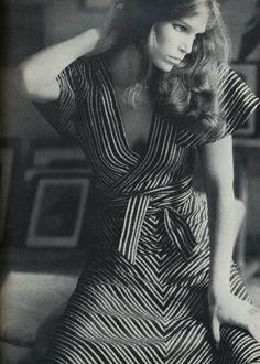 vintage Biba wrap dress