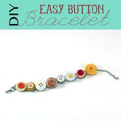 Video Tutorial:  Button Bracelet