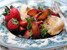 strawberri chicken, dinner recipes, easi dinner