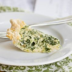 Spinach and Caramelized Onion Quiche
