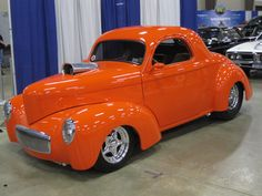 Willys Coupe Clean little coupe