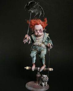 er brutus, sorrow doll, art doll, julien martinez, odd dolls, doll odditi, spooki doll, art attack