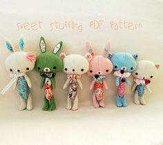 Sweet Stuffling PDF Pattern ~ Gingermelon