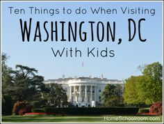 Not just for kids. If you're going, these are the must-do places to see.  #1 is the Capitol. My son does a fab tour there for constituents of the JAX area and Congressman Ander Crenshaw!