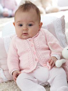 Top Down Baby Cardigan  Free Knitting Patterns  Yarnspirations